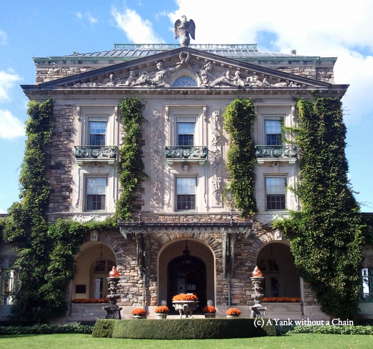 The main house of the Kykuit Rockefeller Estate