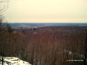 A view of Danbury, CT from Mootry Peak