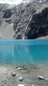 Laguna 69 in the Cordillera Blanca