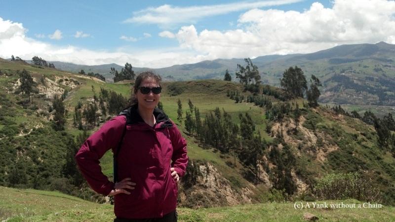 Hiking up to Pukaventana in Huaraz