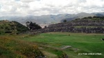 The jagged walls of Sacsayhuaman and a view of Cusco