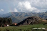 It's fitting that I saw a rainbow, the symbol of the Incan deity