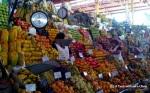 An array of fruit at the San Camilo Market