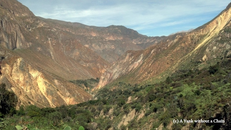 A view of Colca Canyon