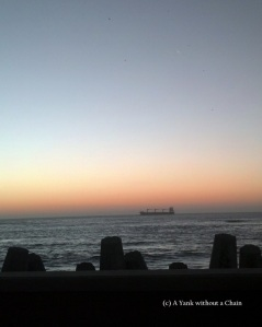 I made it to Tacna just in time to see the sunset over the Pacific!