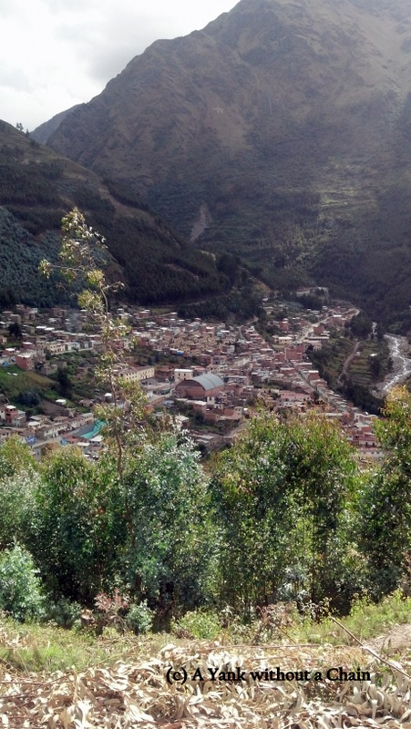A view of Quime, Bolivia