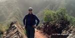Taking a photo break while walking down the Inca trail to Maragua