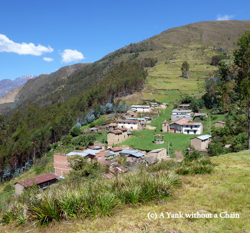 The tiny village of Titiamaya, about two hours from Quime