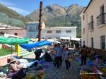 Sunday is market day in Quime, the day to stock up on fruits and vegetables!