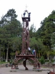 The mini Eiffel Tower in Parque Bolivar in Sucre