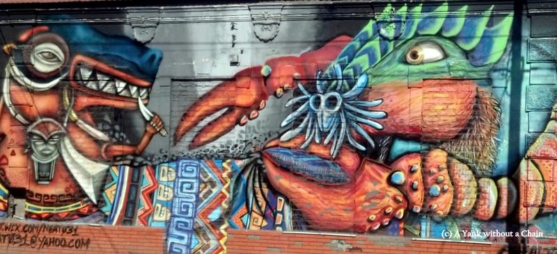 Street art in Mendoza