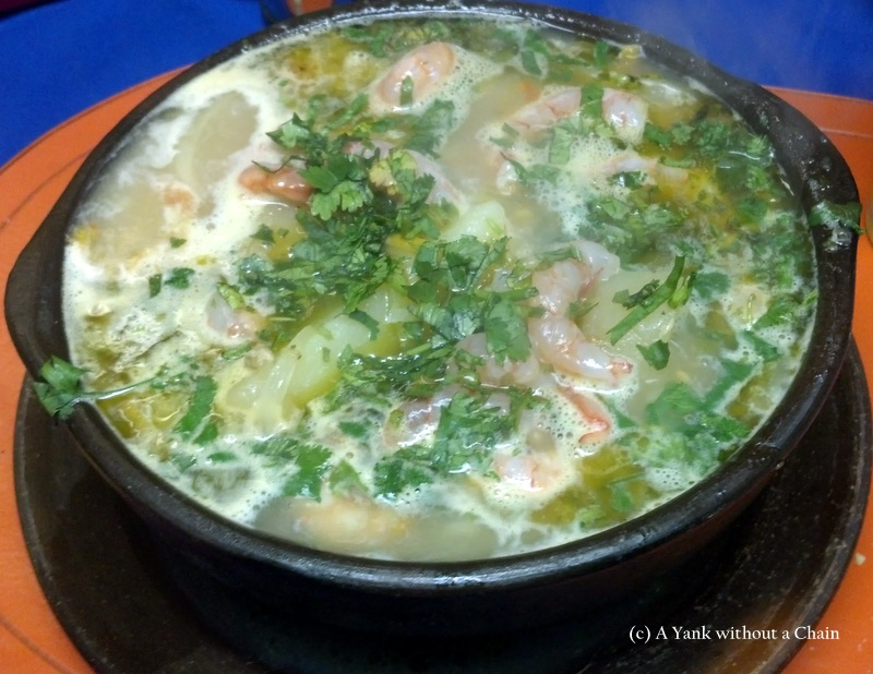 Eel soup, Neruda's favorite dish and the subject of one of his odes