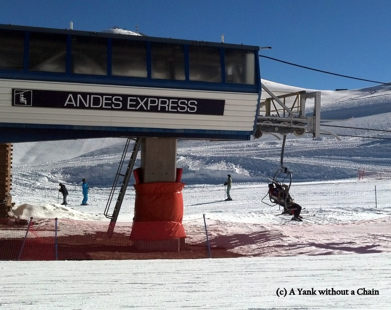 The high speed quad at Valle Nevado
