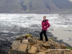 The Skaftafell glacial tongue, a nice hike in Skaftafell National Park!