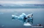 An iceberg at Jokulsarlon