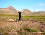 Beginning of my six hour trek around the area of Bakkagerdi and Brunavik