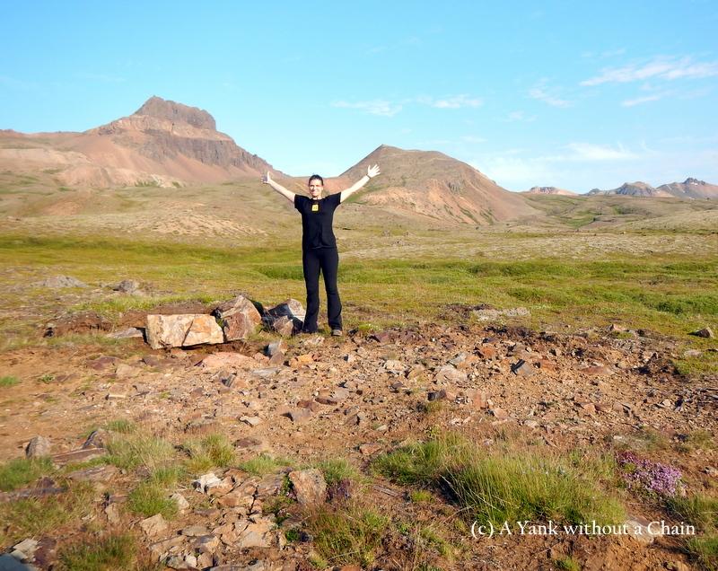 Beginning of my six hour trek around the area of Bakkagerdi and Brunavik