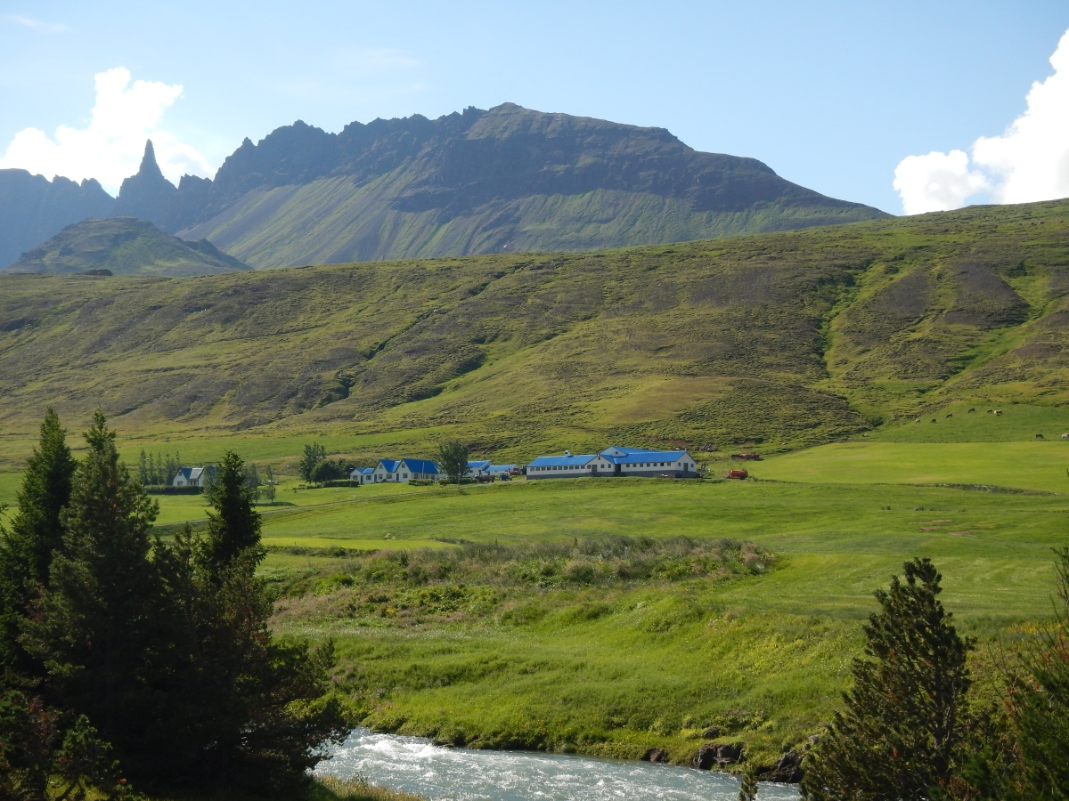 A view from the Ring Road just west of Akureyri