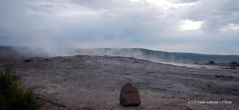 The granddaddy of all geysirs, Geysir sadly does not erupt anymore