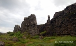 The border of the Atlantic and Pacific continental plates can be seen at Thingvellir National Park