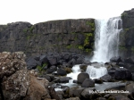 Waterfall at Thingvellir National Park