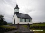 The church at Thingvellir National Park