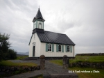 The church at Thingvellir National Park