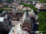 The view from the city hall tower in Subotica