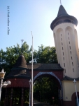 The iconic water tower in Palic
