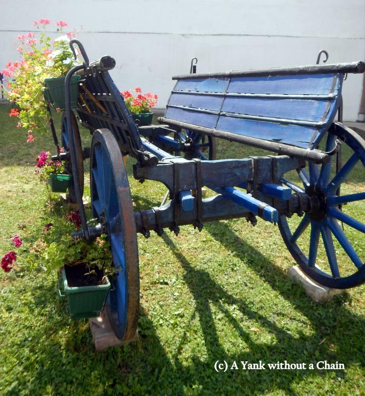 A wagon at Krusedol