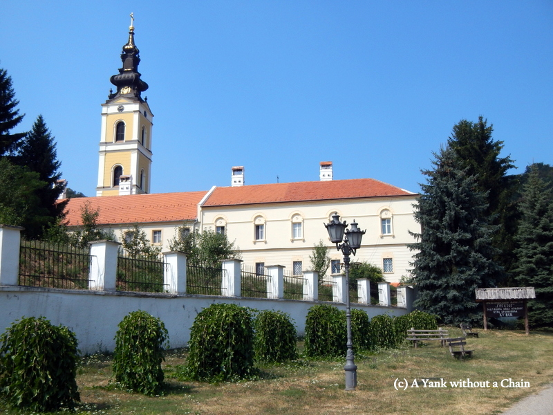 The building complex of the Grgeteg monastery