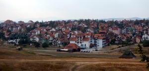 The popular weekend resort town of Zlatibor