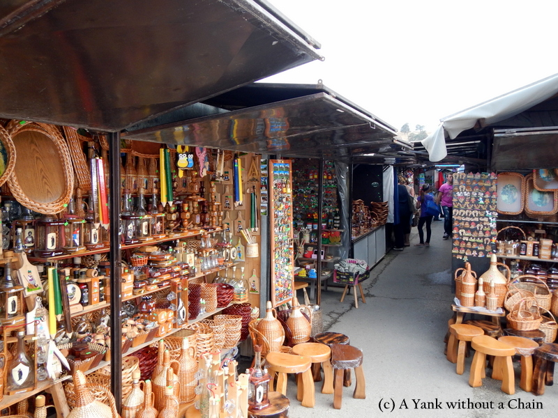 The market at Zlatibor