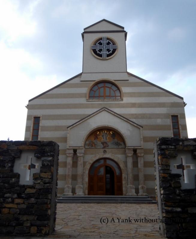 The impressive church in Zlatibor