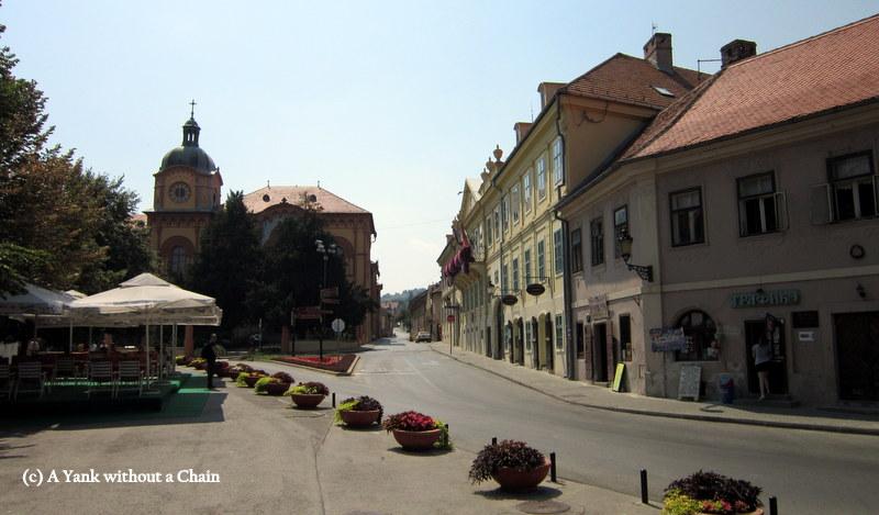 A street in Sremski Karlovci