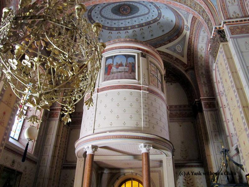 The interior of Grgeteg monastery