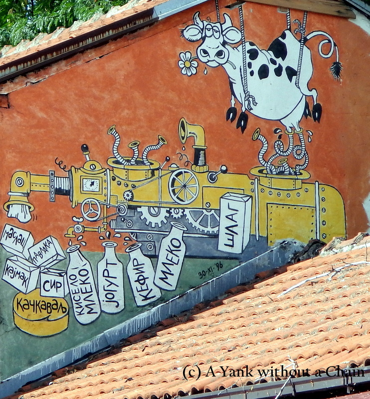 Street art in Nis, Serbia