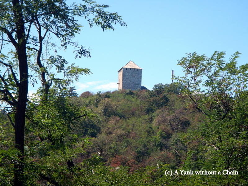 The Vrsac Tower, which overlooks the city