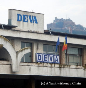 The view of the fortress from the Deva train station. I stayed in Deva a few nights to recharge my batteries.