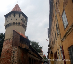 The 14th century citadel in Sibiu