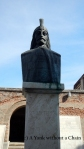A statue of Vlad the Impaler, aka Dracula, in Bucharest