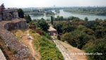 View of Belgrade's two rivers from the fortess