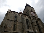 The centuries old Black Church in Brasov