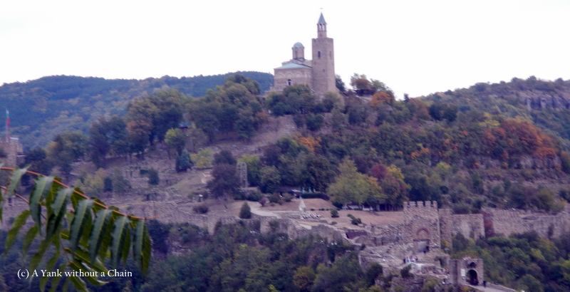 The fortress in Veliko Tarnovo on September 22, Independence Day