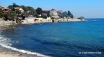 A view of the beach in Nessebar's old town