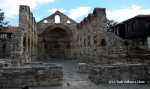 The 5th century Church of St. Sophia in the center of Nessebar's old town