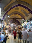 The Grand Bazaar in Istanbul, an over 500-year-old covered market
