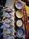 Wares on display at the Grand Bazaar
