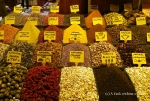 Some of the spices at the gorgeous spice market