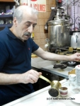 Cemil Pilik, the owner and barrista of Mandabatmaz
